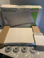 Boxed Nintendo Wii Fit Plus Balance Board, Extender Feet - No Disc