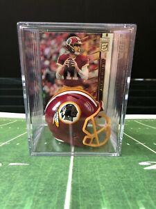 Washington Redskins Alex Smith Mini Revolution Helmet Shadowbox w/ card