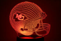 Kansas City Chiefs LED Light Lamp Collectible Patrick Mahomes Home Decor Gift