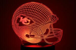 Kansas City Chiefs LED Light Lamp Collectible Patrick Mahomes Home Decor Gift