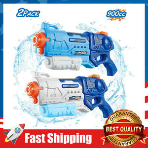 2Pack 900cc Water Gun Blaster Squirt Outdoor Fighting Toy for Kids  Boys & Girls