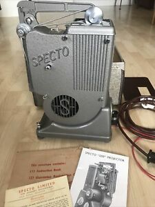 Specto 500 Vintage Projector in case with instructions