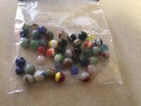 Lot of Vintage Marbles