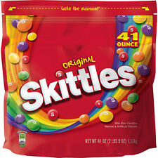 Skittles Original Candy Bag 41oz Party Halloween Treats Birthday Fruit Flavors