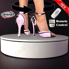 NEW SHOP DISPLAY STAND 360 DEGREE ROTATING TURNTABLE 3D PHOTO VIDEO PHOTOGRAPHY!