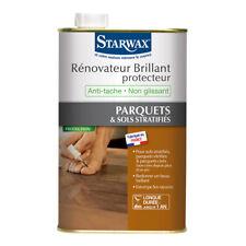 Starwax Rénovateur brillant protecteur pour parquets et sols stratifiés 1 litre