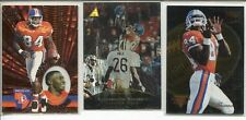 3x RC Lot Shannon Sharpe 1996 Pacific 1995 Trophy Collection 1996 Zenith