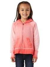 Roxy Sunbleached Glow Pink Girl Teenie Wahine Hoodie Sweater Sz 5