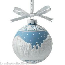 Wedgwood Carolers Christmas Japserware Ornament & Christmas Happy New Year New