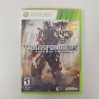 Transformers: Dark of the Moon Xbox 360 2011 FAST SHIPPING
