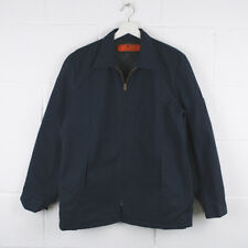 Vintage RED KAP Navy Blue Workwear Worker Lined Jacket Size Mens Medium /R34012