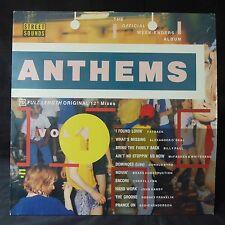 STREET SOUNDS Anthems Vol 1 FATBACK BYRD MERCH INSERT UK Original LP EX