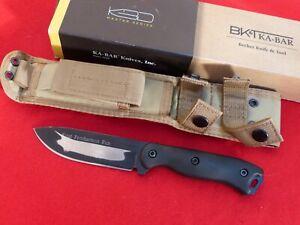 "KA-BAR BK16 Becker Fixed blade BK16 Knife 9"" Carbon Grivory handles"