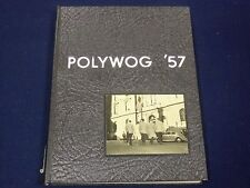 1957 POLYTECHNIC INSTITUTE OF BROOKLYN YEARBOOK - POLYWOG - GREAT PHOTOS - K 21