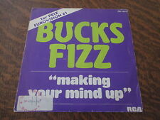 45 tours BUCKS FIZZ making your mind up