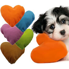 1pcs Soft Puppy Cat Dog Heart Pillow Cushion Dog Toy Bed Mat Pad Kennel Pillow
