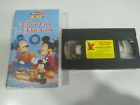Una Navidad con Mickey Walt Disney Mickey - VHS Cinta Español - 3T