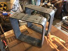 Custom Made Industrial Style Shelf Brackets - Architectural Element