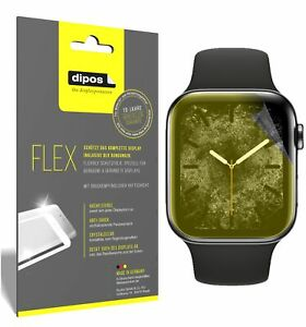 2x Screen Protector for Apple Watch Series 6 (44mm) Protective Film covers 100%