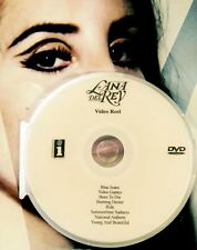 Lana Del Rey  DVD 8 music video reel not a CD video games summertime sadness +6