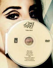 Lana Del Rey  DVD 8 music video reel not a CD video games summertime sadness +6