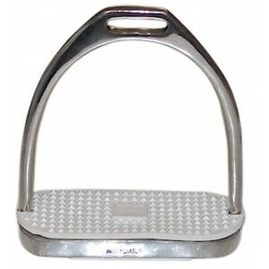 """NEW Coronet Fillis Stirrup Irons with Pads - 4"""""""