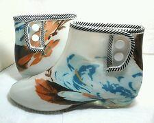 Rain Boots Female's Short Waterproof Shoes Women /Girls Rubber ~ Size M