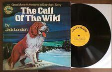 Jack London ~ THE CALL OF THE WILD ~ Wonderland Golden Record Vinyl LP
