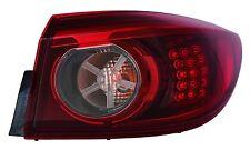 New Passenger Side LED Smoke Outer Tail Light FOR 2014 2015 Mazda 3