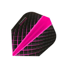 NEW HARROWS QUANTUM PINK 100 MICRON STANDARD SHAPE FLIGHTS