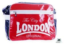 Robin Ruth City of LONDON Original Retro Red/ White PVC Gloss Sports Womens Bag