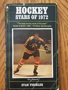 Hockey Stars of 1972 Book Phil Esposito BOSTON BRUINS
