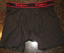 Men's Black CHAMPION Boxer Briefs Large nwot Vapor Tech