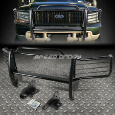 FOR 99-07 F250-F550 SD SUPERDUTY BLACK COATED MILD STEEL FRONT GRILL FRAME GUARD