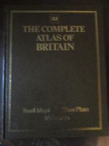 AA complete atlas of Britain.Automobile association. RAC.AA book
