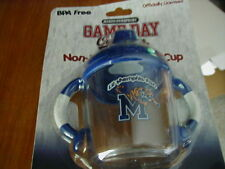 MEMPHIS TIGERS Sippy Cup, non-spill drinking cup, game day outfitters
