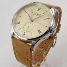 42mm Parnis off-white dial 24 Hours seagull Automatic Movement Mens Watch P955B
