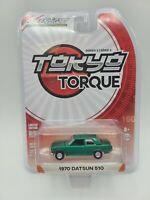 Greenlight Tokyo Torque Series 2 1970 Datsun 510 Green Machine FREE SHIPPING
