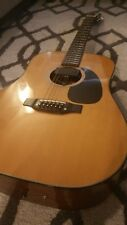 Takamine F-385 12 String Acoustic Guitar, Pickup and Hard Case Included