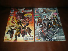 X-MEN UNIVERSE - LOT DES TOMES 3 ET 4 - MARVEL PANINI COMICS 2012
