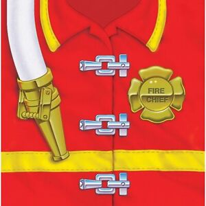 Firefighter Fire Fighter Hero Responder Birthday Party Paper Luncheon Napkins