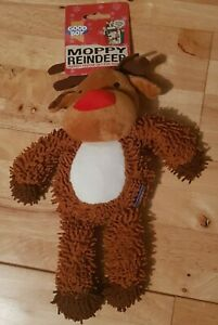 Good Boy - Moppy Reindeer - Puppy / Dog Christmas Toy