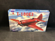 Amodel I-180E3 Soviet Fighter 1:72 Scale Plastic Model Kit 7283 New in Box