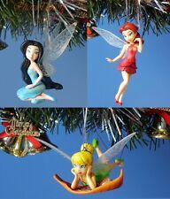 Decoration Xmas Ornament Home Decor Disney Tinkerbell Rosetta Silvermist Set 456