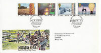 14 JANUARY 1986 INDUSTRY YEAR ROYAL MAIL FIRST DAY COVER BIRMINGHAM SHS (x)