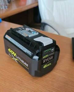 Ryobi OP40602 40V 6ah Lithium Ion High Capacity Batteries