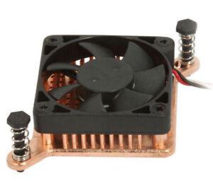 Enzo Tech  Flat Low Profile Northbridge Copper Heatsink w/ Fan, SLF-1