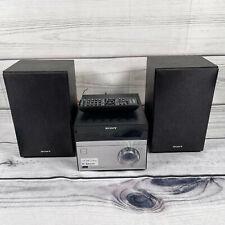 Sony CMT-SBT20 FM/AM Mini Hi-fi System With CD, Bluetooth, USB, MP3, NFC - Black