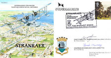 PP27 Stranraer RAF FDC signed