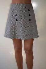 Plaids & Checks Regular Size Mini Pleated Skirts for Women